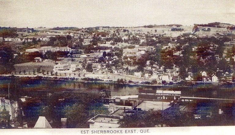 st-francois sherbrooke photo histoire