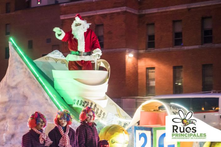 Défilé du Père Noël de Sherbrooke