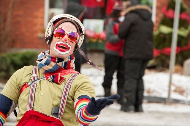 Défilé père Noël Sherbrooke