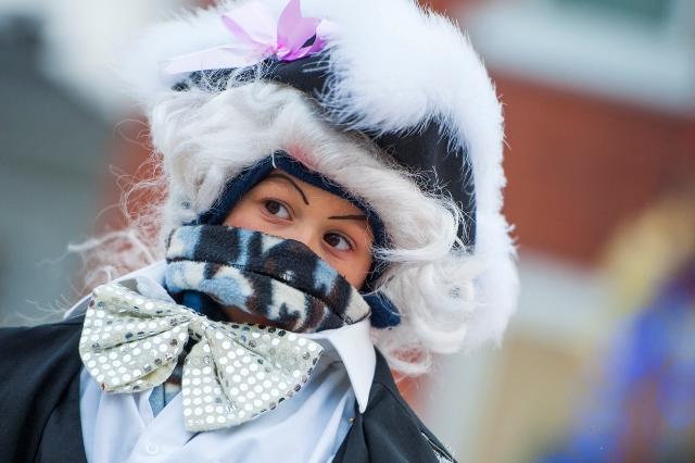 Défilé père Noël de Sherbrooke